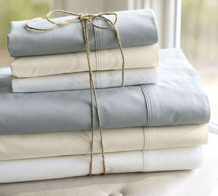 Cute  Easy Pieces Simple White Sheets