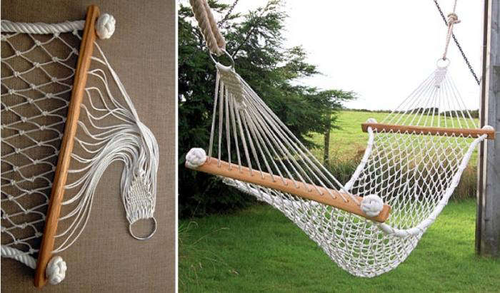 A boutique knotting shop in cornwall remodelista for Rope hammock plans