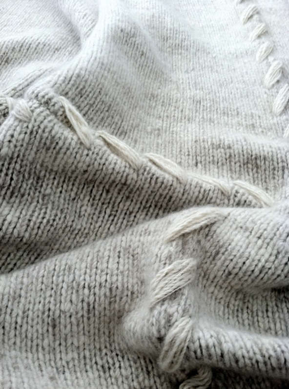 above a detail of one of chaitu0027s heavygauge cashmere blanket made of handspun cashmere each 16panel blanket weighs 10 pounds the price - Cashmere Blanket
