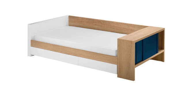 Modern twin bed Rustic Above Duet Twin Bed By Nurseryworks With Choice Of Five Cabinet Colors 1750 From Allmodern Remodelista 10 Easy Pieces Kids Modern Beds Remodelista