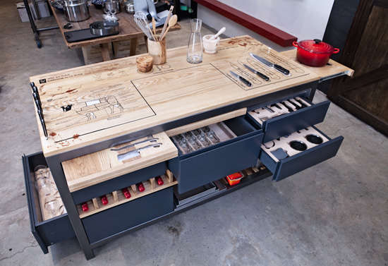 The Ultimate Chef S Work Table From A Culinary Star
