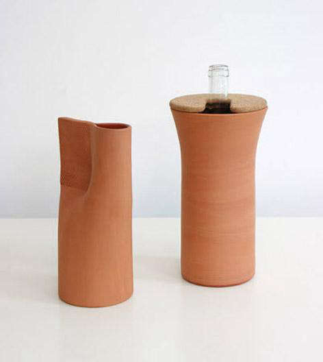 Tabletop: Fresh Terracotta Wine Cooler from Normal Studio