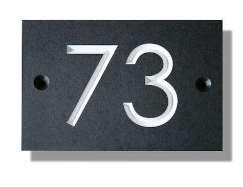 outdoors house numbers from a short walk in cornwall remodelista