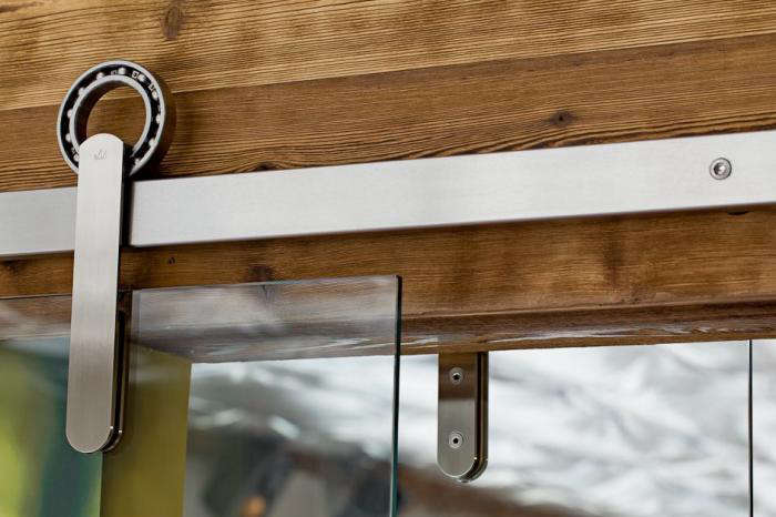 Charmant Above: A Detail Of The Rob Roy Sliding Door Hardware; Prices Start At $699.  Photo By Lincoln Barbour.