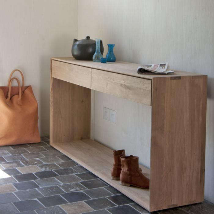 Simple Wood Furniture from Ethnicraft in Belgium - Remodelista