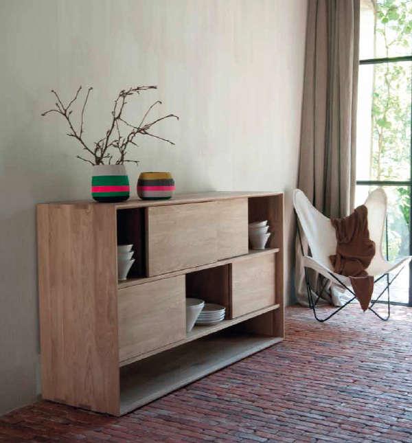 Simple Wood Furniture simple wood furniture from ethnicraft in belgium - remodelista