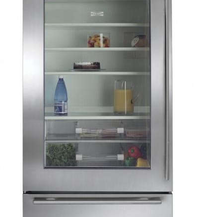 Sub Zero Glass Door Refrigerator