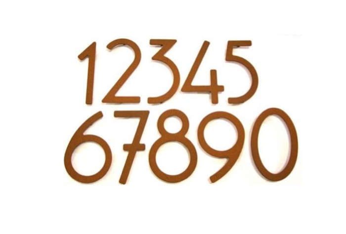 10 easy pieces house numbers remodelista