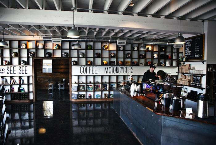 The Biker Bar Reimagined Espresso Included Remodelista