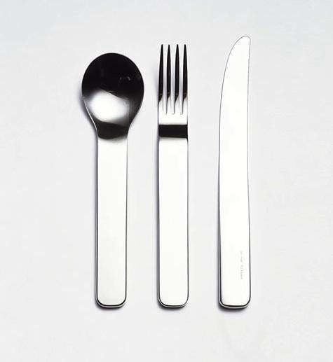 Above Sarah Is A Devotee Of David Mellor S Modern Flatware Crafted High Quality Stainless In Sheffield England Her Favorite Minimal