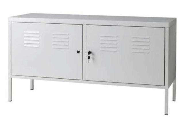 Ikea Credenza White : Design sleuth ikea ps cabinet as sideboard remodelista