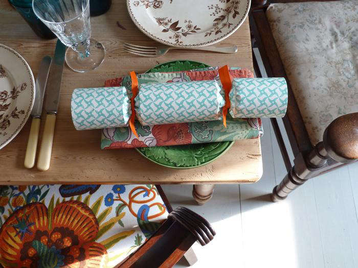 Crackers are a traditional addition to holiday tables in the UK, as seen here, inHoliday Tables Fit for an Englishman: Ben Pentreath's City and Country Picks.