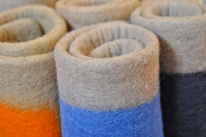 Felted Wool Rugs By Way Of The Himalayas Remodelista