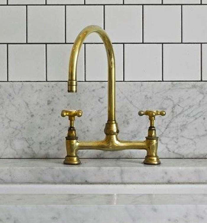 5 Favorites: Brass Faucets for the Kitchen - Remodelista