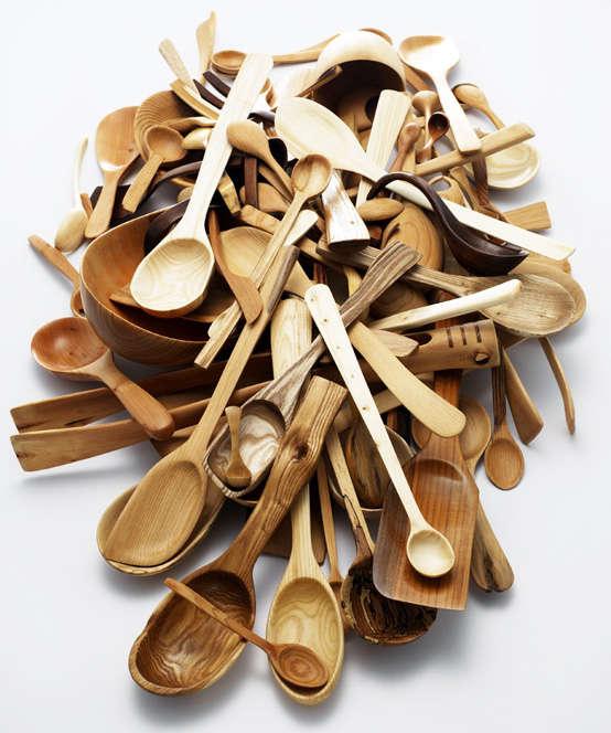 362a80cf8c 10 Easy Pieces  Artful Wooden Spoons - Remodelista