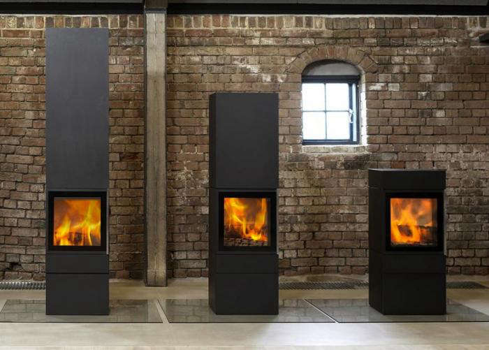 The Stuv 30 Wood Stove Has A Unique Multi Function Gl And Steel Door That Operates In Three Positions Open Closed Or To Slow