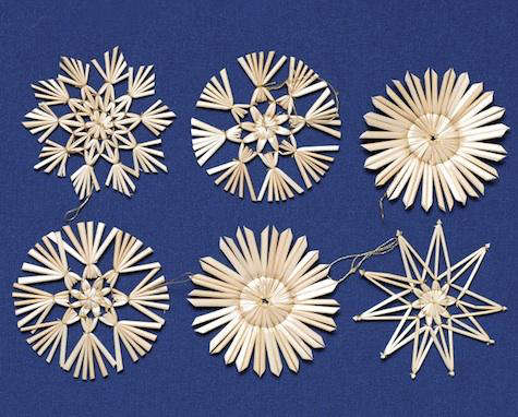 how to make straw stars step by step