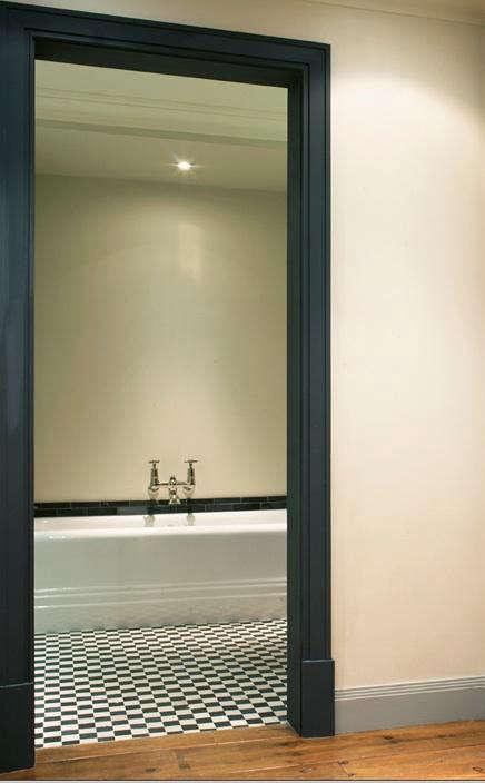 Palette Amp Paints Gray Interior Doors Remodelista