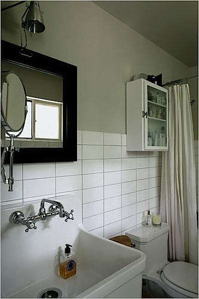 Steal This Look SchoolhouseStyle Bath By S Russell Groves - Remodelista bathroom