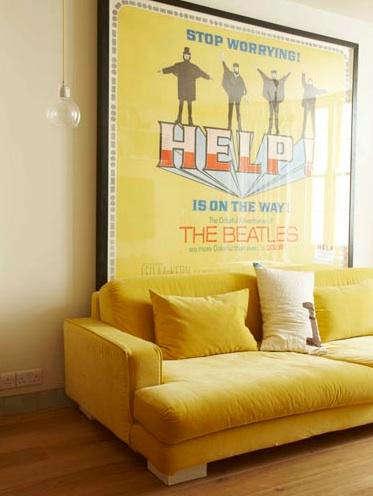 Fabrics & Linens: Yellow Velvet - Remodelista