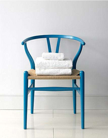 Palette Amp Paints Blue Dining Chairs Remodelista