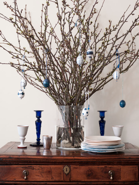 DIY: Easter Egg Tree by Ruth Lonsdale - Remodelista