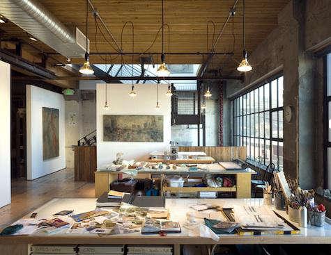architect visit seattle artist s studio by olson kundig architects
