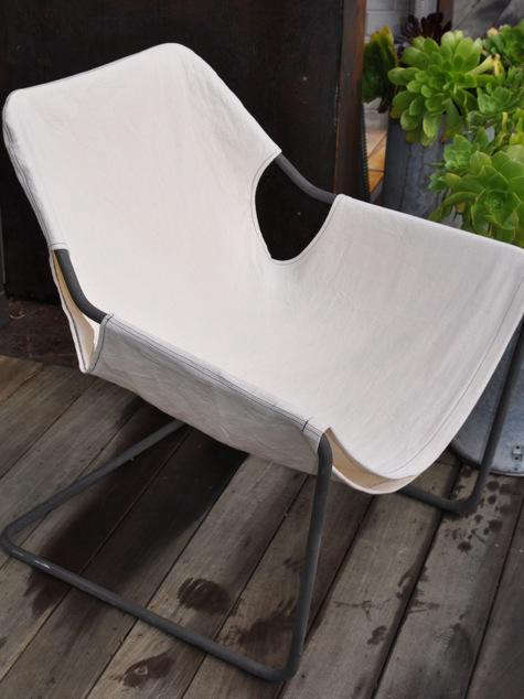 Diy Paulistano Armchair With White Canvas Cover Remodelista