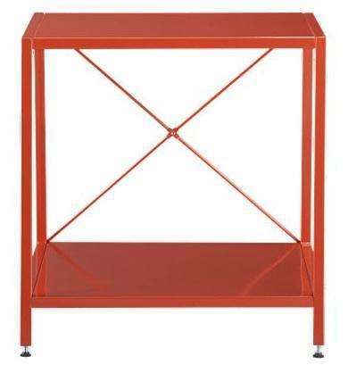Furniture High Low Red Nightstands Remodelista