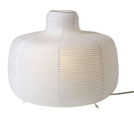 Lighting paper table lamps at ikea remodelista above the 13 inch diameter vate table lamp is 1299 at ikea aloadofball Image collections