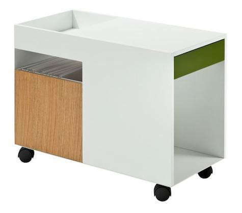 office furniture on wheels. office cart on wheels furniture storage carts remodelista n