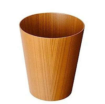 Above: Japanese Plywood Paper Basket Is 12 Inches High; $65 At Tortoise.