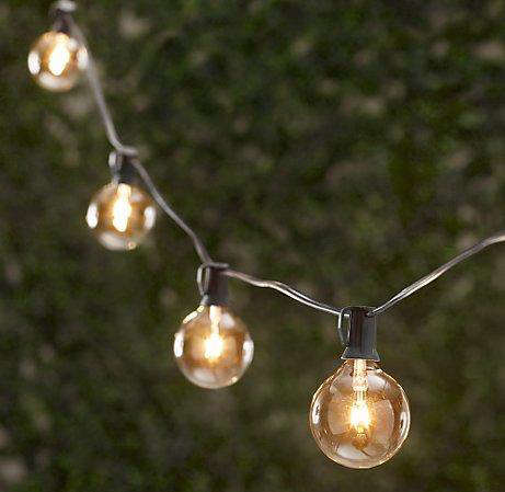 Outdoors caf style string lights remodelista above european caf commercial quality string lighting 35 feet long with seven weatherproof sockets 8995 at amazon aloadofball Images