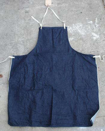 5e41ccd337a Above  Stanley   Sons sells a line of handmade aprons  the White Oak  Selvage Denim Apron is  118.