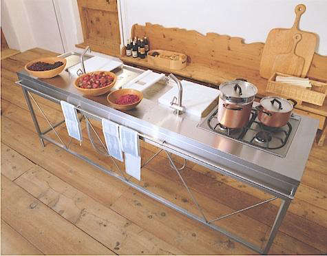 Marvelous Kitchen Work Bench On With Tall Table Stainless Steel 0
