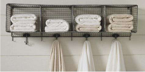 Design Sleuth Wire Towel Rack In The Bath