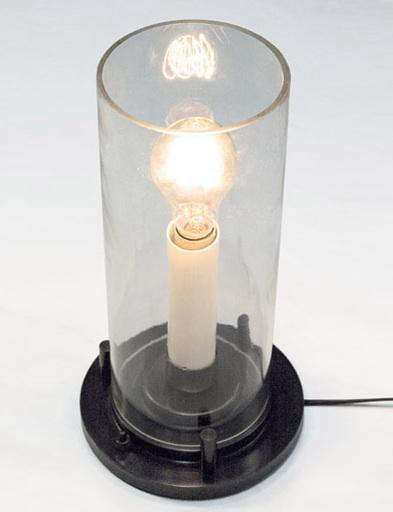 Above Cylinder Lamp