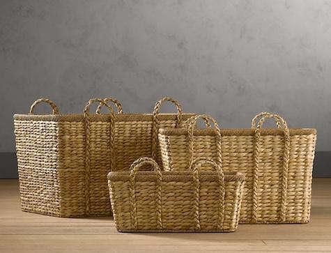 Storage Rustic Woven Basket Roundup & Storage: Rustic Woven Basket Roundup - Remodelista