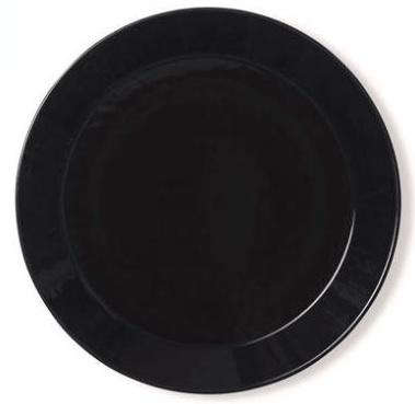 10 Easy Pieces: Black Dinner Plates - Remodelista