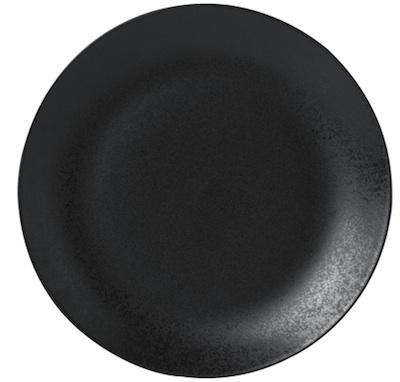 Above Kuro Dinner Plate Black Matt; made in Portugal for Conran in the UK; £9.95 .  sc 1 st  Remodelista & 10 Easy Pieces: Black Dinner Plates - Remodelista