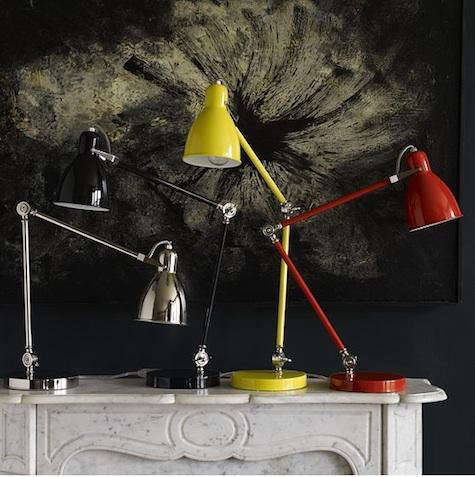 Lighting New Industrial Task Table Lamps At West Elm Remodelista