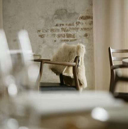 Above: At Noma In Copenhagen, Chairs Are Draped In Sheepskins.