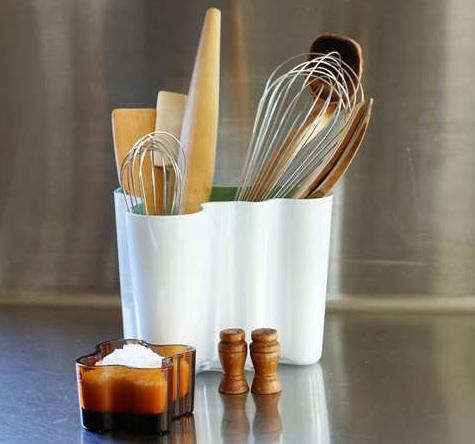 Design Sleuth Aalto Vase As Utensil Holder Remodelista