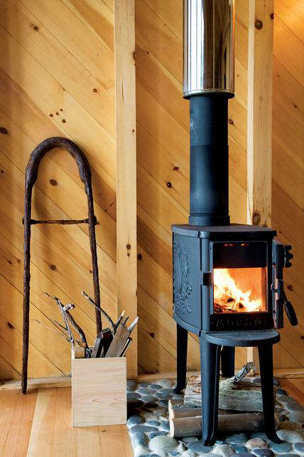 Above; Architect Alex Scott Porter used the tiny Classic Forest Stove from  Morso, which is based on a design from the 1930s. At 28 inches high, ... - Appliances: Morso Wood Stoves - Remodelista