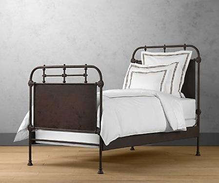 Furniture Iron Bed Frame At Restoration Hardware