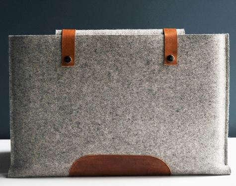 Kenton Sorenson Leather Laptop Portfolio