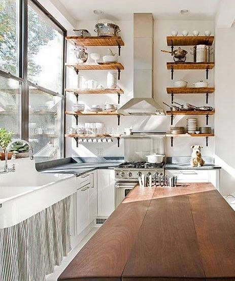 Kitchen: Curtain-Covered Cabinet Roundup