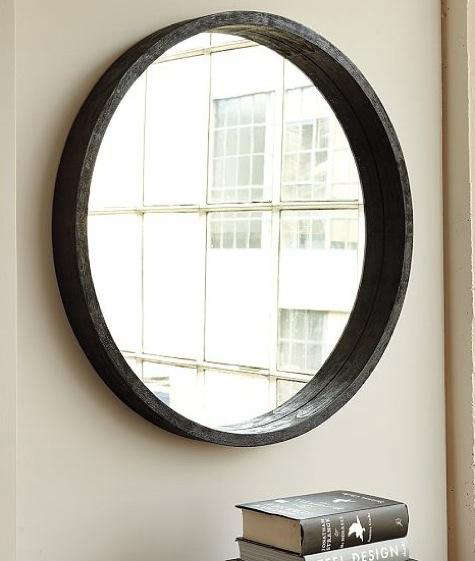 We Re Always On The Lookout For Good Mirrors Especially Circular Ones Like Round Wood Mirror With Mango Frame 199 From West Elm