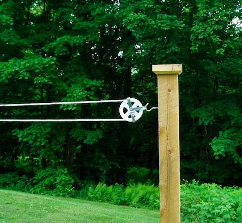 Outdoor Clothesline Pulley Kit