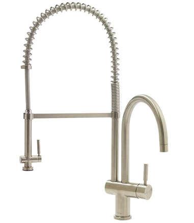 Vigo Commercial Style Chrome Kitchen Faucet